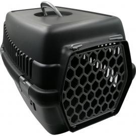 Şenyayla Plastik Köpek Evcil Hayvan Siyah Gri Renk Taşıma Çantası