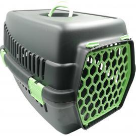 Şenyayla Plastik Köpek Evcil Hayvan Siyah Yeşil Renk Taşıma Çantası